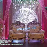 Luxurious Wedding Bride Groom Chairs
