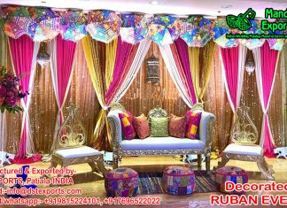 Marvelous Mehndi Ceremony Decors