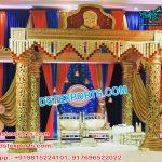 Impressive Wedding Golden Mandap Set