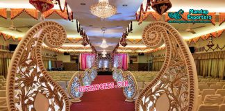 Wedding Walkway Paisleys Decor