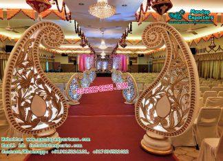 Wedding Walkway Paisleys Decor