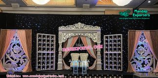 Marvelous Wedding Stage Set Decor
