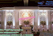Luxurious Wedding Stage Set Decoration
