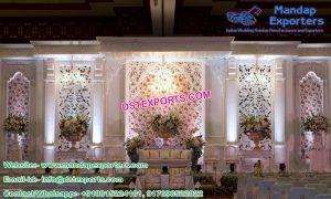 Luxurious Wedding Stage Set Decoration