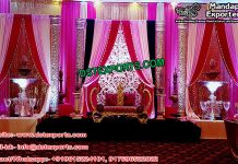 Muslim Walima Wedding Stage Decor