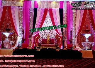 Muslim Walima Wedding Stage Decor