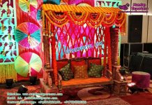 Prominent Muslim Mehandi Stage Swing