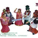 Punjabi Bhangra Table Centerpiece Statues