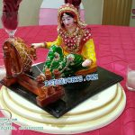Punjabi Lady table decoration statue