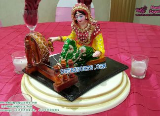 Punjabi Lady table decoration statue