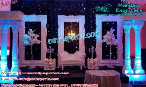 Top Class Wedding Back Wall Stage