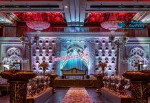 Royal Muslim Jharokha Wedding Stage