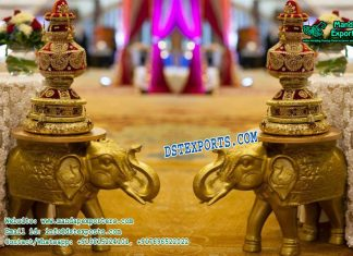 Small Elephant Table Decoration Statues