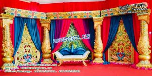 South Indian Wedding Peacock Stage