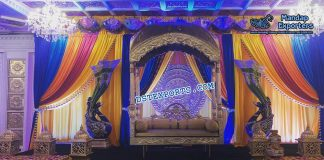Splendid Jodha Akbar Stage Decoration