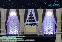 Stunning Marriage Reception Stage Decoration