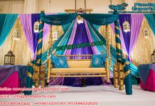 Wedding Stage Swing Decor