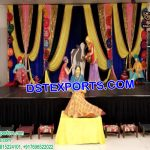 Traditional Punjabi Statues for Mehndi Decor