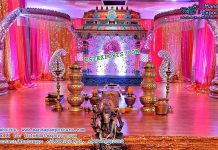 Traditional South Indian Wedding Mandap