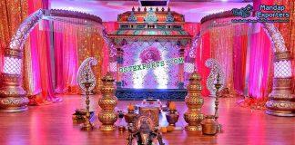 Traditional South Indian Wedding Mandap