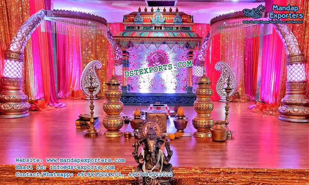 Traditional South Indian Wedding Mandap Mandap Exporters