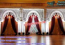 Stunning Western Wedding Stage Decoration