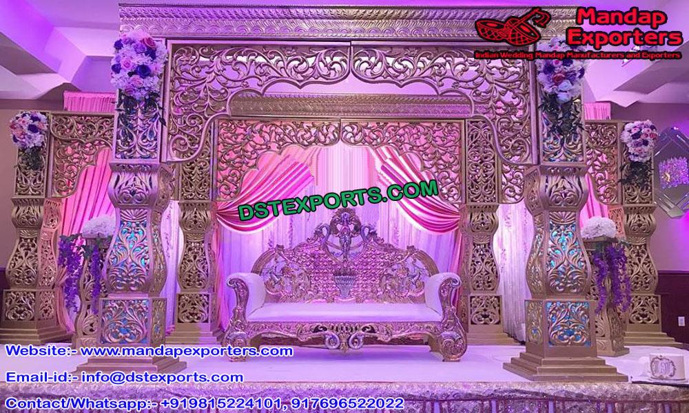 Classy Wedding Mandap Set Decor