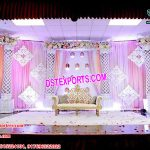 Dreamy Palazzo Pillars Wedding Stage