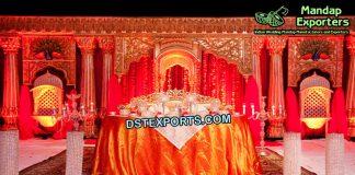 Muslim Walima Stage Jhronka Decor