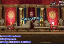 Muslim Nikah Stage Decoration