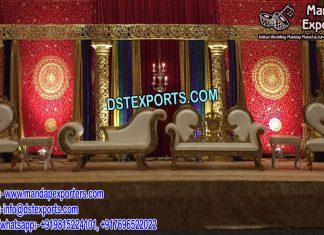Muslim Nikah Stage Decoration
