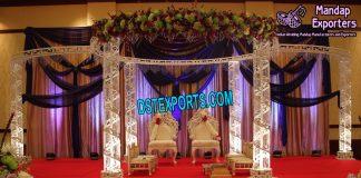 White Diamond Wedding Mandap