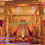 Grand Rajwada Fiber Wedding Mandap