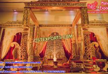 Grand Rajwada Fiber Wedding Mandap