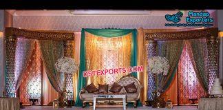 Gorgeous Palazzo Pillar Wedding Stage