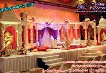 Royal Castle Wedding Stage Set