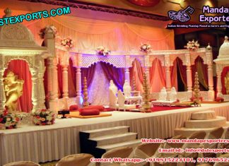 Royal Castle Wedding Stage Set