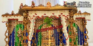 Classic Srilankan Wedding Ceremony Mandaps