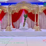 Decorative Indian wedding Wooden mandap