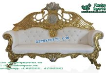 Elegant Asian Wedding Love Seater