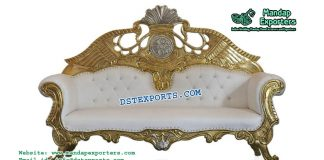 Elegant Asian Wedding Love Seater