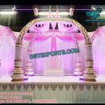 Ancient Trunk Pillars Wedding Mandap Set
