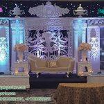 Exquisite Western Wedding Stage Setup