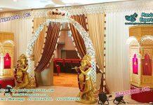 Fascinating Indian Wedding Entrance Decoration