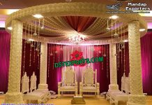 Florist Wedding Mandap Set