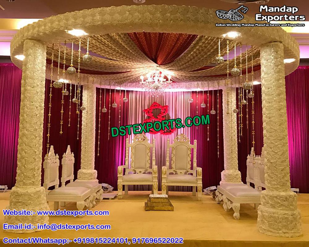 Florist Wedding Mandap Set