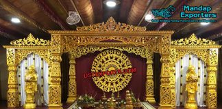 Flourishing Bollywood Wedding Mandap Set