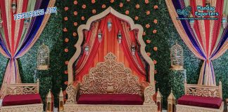 Gorgeous Mehndi Stage Sofa Furniture