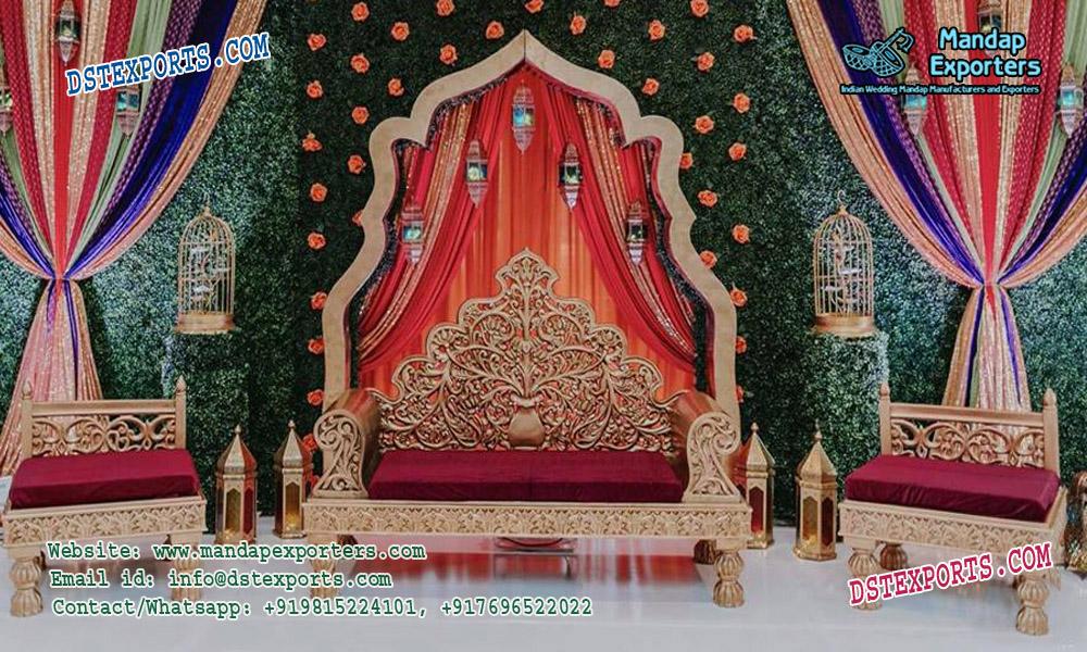 Gorgeous Mehndi Stage Sofa Furniture