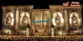 Grand Wedding Stage Jhumka Frames